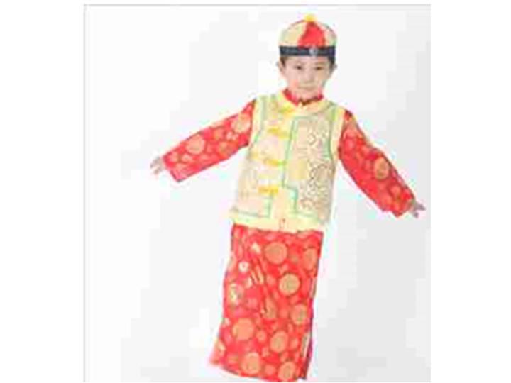 儿童唐装婚纱照